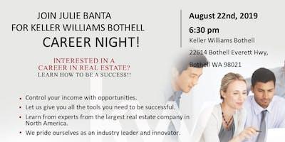 Keller Williams Bothell Career Night!