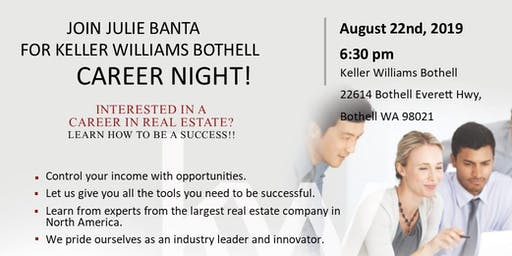 Keller Williams Bothell Career Night!