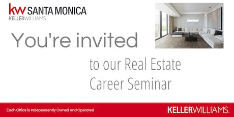 Keller Williams Realty Career Seminar - September 20, 2019 tickets