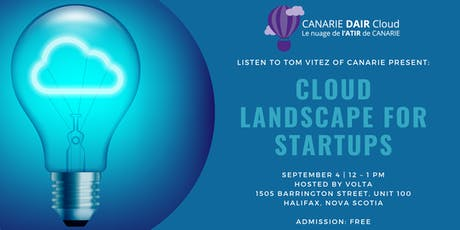 Cloud Landscape for Startups tickets