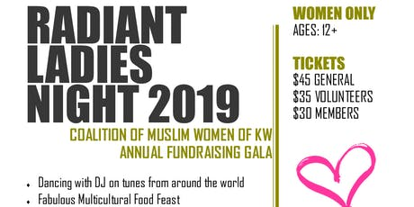 Radiant Ladies Night 2019 tickets