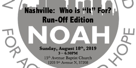"Nashville Who is ""It"" for? Run Off Edition tickets"