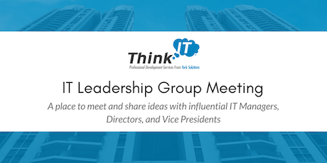 Twin Cities Think IT Leadership Meeting tickets