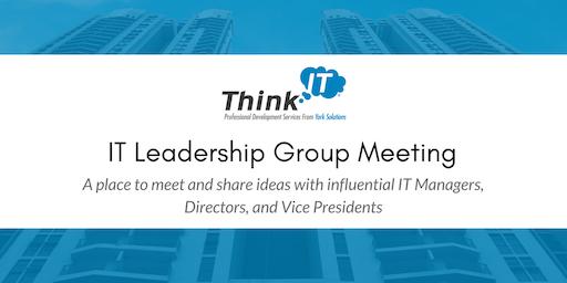Twin Cities Think IT Leadership Meeting