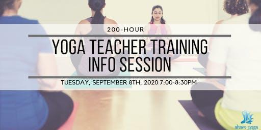 200-Hour Yoga Teacher Training Info Session