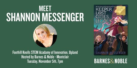 Meet Shannon Messenger as she discusses LEGACY - Upland, CA tickets