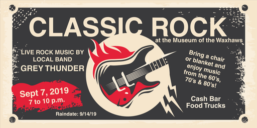 Classic Rock - Grey Thunder Live at the Museum of the Waxhaws