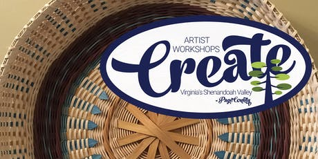 CREATE Workshop - Basket Weaving with Anne Bowers tickets