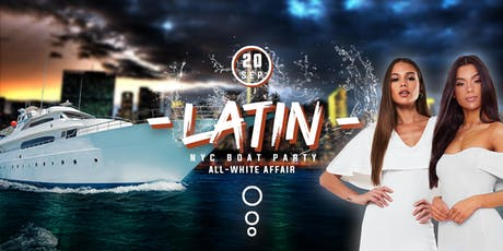 The All White Affair Boat Party Yacht Cruise NYC: Last Friday of Summer tickets