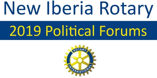 Rotary Club 2019 Political Forums