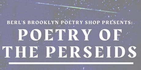 Poetry of the Perseids  tickets