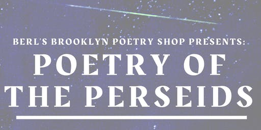 Poetry of the Perseids