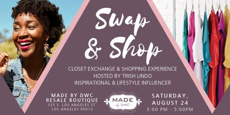 Swap & Shop with Trish Lindo at MADE by DWC tickets