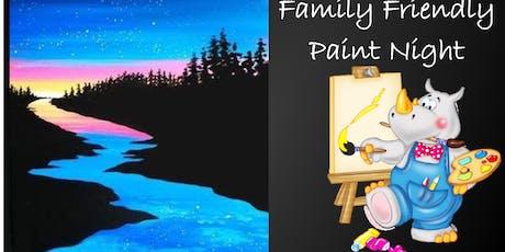 Family Friendly Paint Night tickets