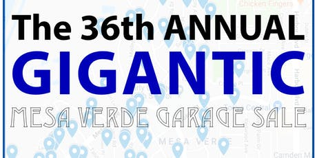Mesa Verde's 36th Annual Garage Sale tickets