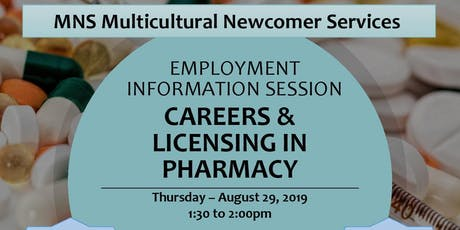 Employment Information Session - Careers & Licensing in Pharmacy tickets