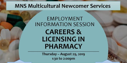 Employment Information Session - Careers & Licensing in Pharmacy