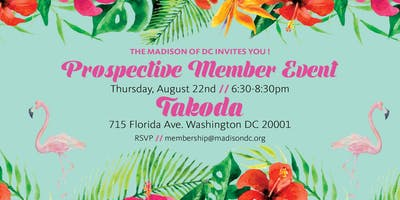 The Madison Prospective Member Event #1
