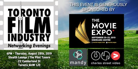 AUGUST Toronto film and TV Networking Evening tickets