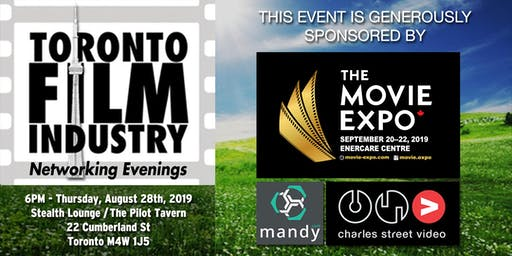 AUGUST Toronto film and TV Networking Evening