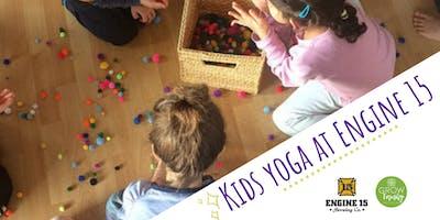 Kids Yoga at Engine 15