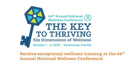 National Wellness Conference tickets