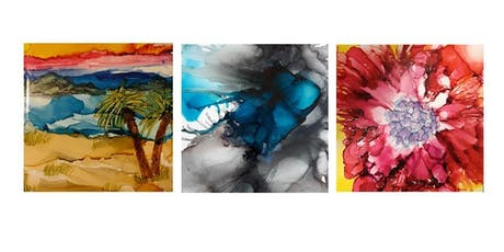 Sip & Craft Alcohol Ink Painting tickets