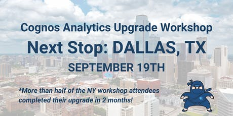 Hands-On Workshop: Launching & Completing a Successful Cognos Upgrade tickets