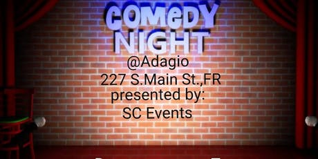 Comedy Night @Adagio Restaurant and Lounge tickets