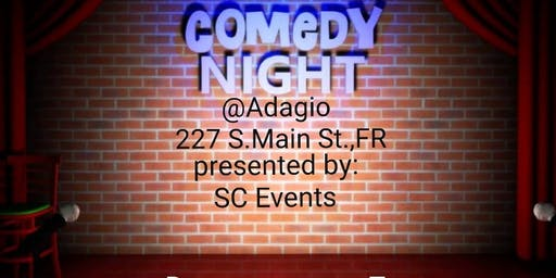 Comedy Night @Adagio Restaurant and Lounge