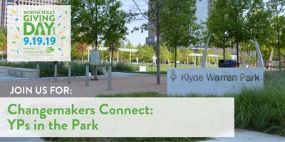 Changemakers Connect: YPs in the Park