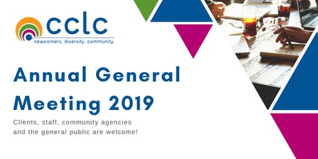 CCLC Annual General Meeting 2019 tickets