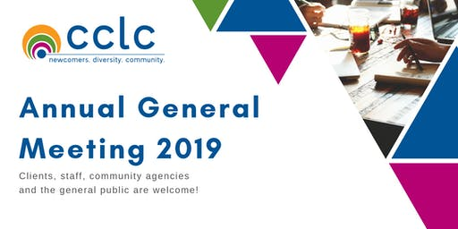 CCLC Annual General Meeting 2019