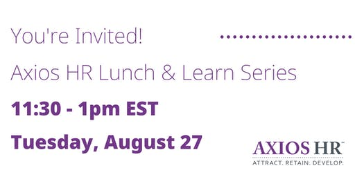 How To Manage HR In A Small Business - Lunch & Learn