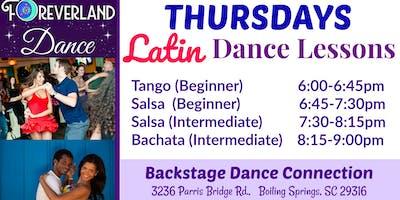 Thursday LATIN Dance Lessons