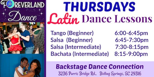 Thursday LATIN Dance Lessons