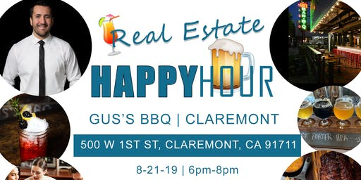 Real Estate Happy Hour Event At Gus's BBQ
