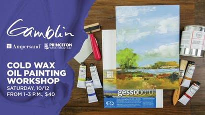 Cold Wax Oil Painting Workshop at Blick Lincoln Park tickets