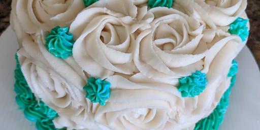 Adult Class: Rosette Cake Decorating