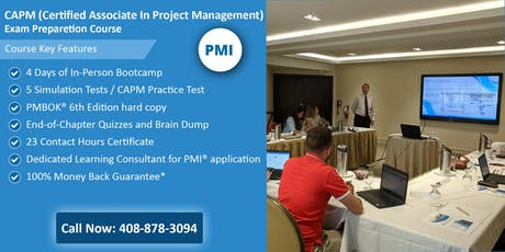 CAPM (Certified Associate In Project Management) Training in Helena, MT tickets