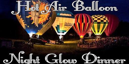 Harvest Hot Air Balloon Night Glow Buffet