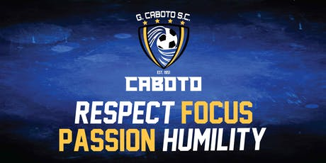 Caboto Soccer Club - Open House and Information Night tickets