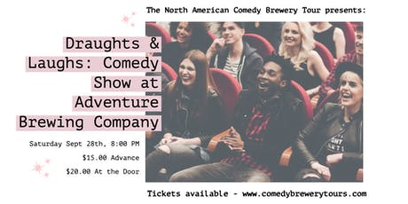 Draughts & Laughs: Beer and Comedy Show at Adventure! tickets