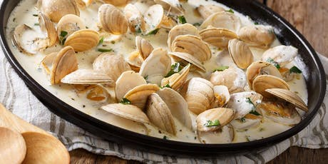 Lunch 'n' Learn: Drunken Clams with Sausage tickets