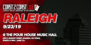 Coast 2 Coast LIVE Artist Showcase Raleigh, NC - $50K...