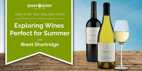 Exploring Wines Perfect for Summer with Brent Shortridge tickets