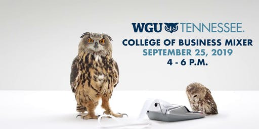 WGU Tennessee College of Business Mixer