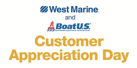 West Marine Buford Presents Customer Appreciation Day! tickets