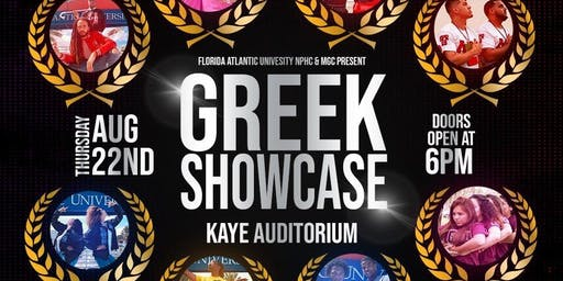 NPHC & MGC Greek Showcase 2019