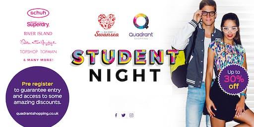 Swansea Student Shopping Night